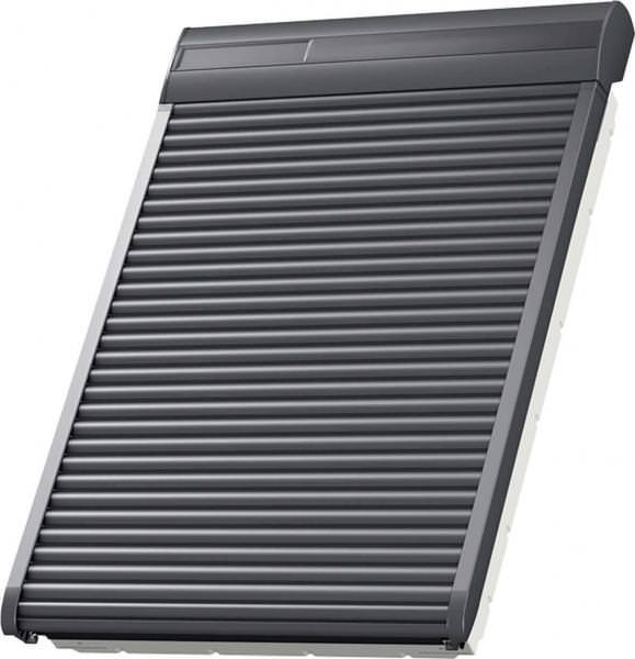 velux ssl 0100s aluminium integra solar rollladen kupfer inkl fernbedienung. Black Bedroom Furniture Sets. Home Design Ideas